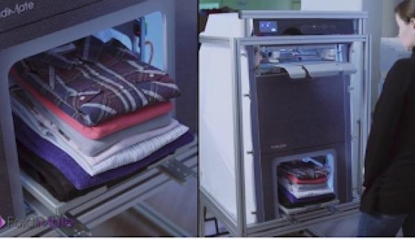 Ήρθε η συσκευή που διπλώνει και σιδερώνει τα ρούχα μετά το πλυντήριο 22