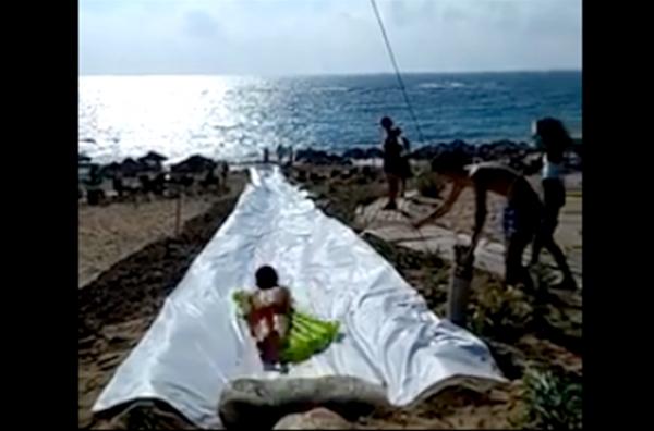 Μεσσηνία: Ammothines Restaurant & Beach Bar σε οδηγεί στη θάλασσα με μια νεροτσουλήθρα 45 μέτρων 6