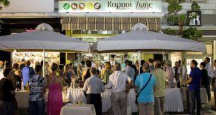 Πλήθος κόσμου στα εγκαίνια για το νέο κατάστημα «Καρποί ζωής» του Νίκου Παπαθεοδώρου