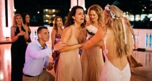 Νύφη ετοιμάζεται να πετάξει την ανθοδέσμη. Αυτό όμως που κάνει στη συνέχεια, συγκλονίζει συγγενείς και καλεσμένους!