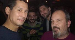 Οι κριτές του MasterChef σε βραδινή τους έξοδο στην Καλαμάτα