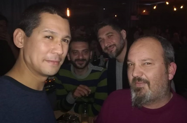 Οι κριτές του MasterChef σε βραδινή τους έξοδο στην Καλαμάτα 8