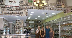 «Καρποί ζωής» του Νίκου Παπαθεοδώρου ένα κατάστημα με πλούσια Ποικιλία Ξηρών Καρπών στην Καλαμάτα.