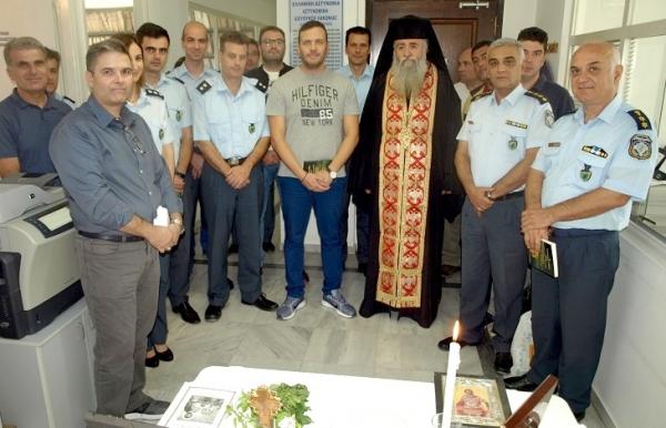 Ποιμαντική επίσκεψη του Πανοσιολογιότατου Αρχιμανδρίτη Νεκτάριου Κιούλου, στις Διευθύνσεις Αστυνομίας Λακωνίας και Μεσσηνίας 23