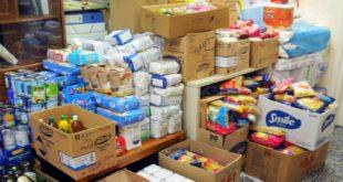 Διανομή τροφίμων ΤΕΒΑ στην Καλαμάτα