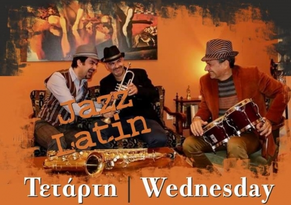 Βραδιά Latin Jazz με τους 'The Painters Trio' στο Enigma cafe Bar 32
