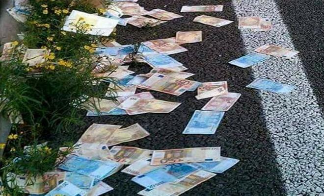 Έβρεξε χαρτονομίσματα στην Ηλιούπολη: Δεν πίστευαν στα μάτια τους οι περαστικοί 20