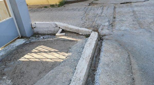 Ακαθάριστο το ρέμα στο Φραγκοπήγαδο – Ανησυχία στους κατοίκους των οδών Γλαύκου και Μπακογιάννη