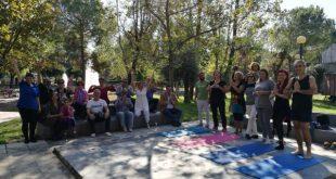 Δωρεάν σεμινάριο των μελών και των φίλων του »Ευκλή» για την Yoga από την δασκάλα Ξένια Πρεζεράκου.