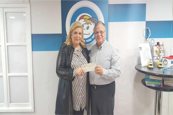 Η Κλέλια Χατζηιωάννου κάλυψε τον ΕΝΦΙΑ για το «Χαμόγελο του Παιδιού» - Προσέφερε 75.000 ευρώ 30