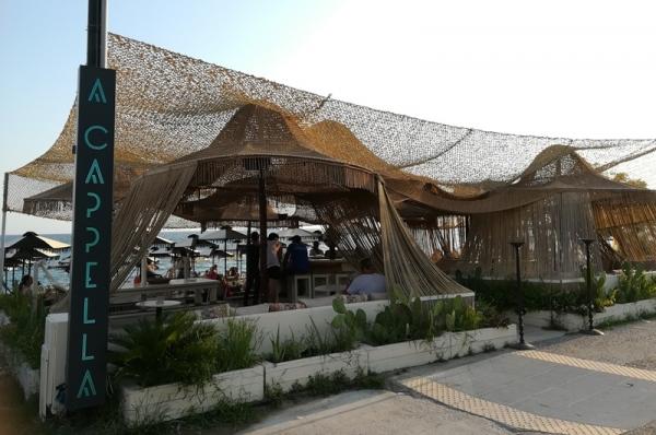 A Cappella beach bar στην παραλία της Καλαμάτας για όλες τις ώρες της ημέρας 29