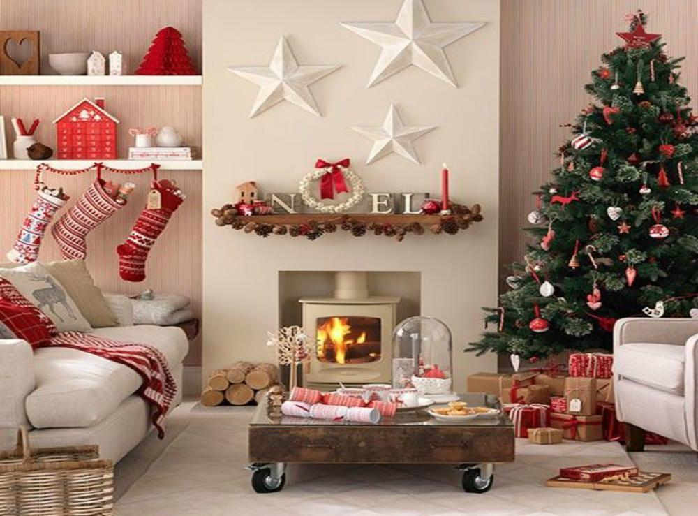 5 Ιδέες για χριστουγεννιάτικη διακόσμηση σαλονιού! 19