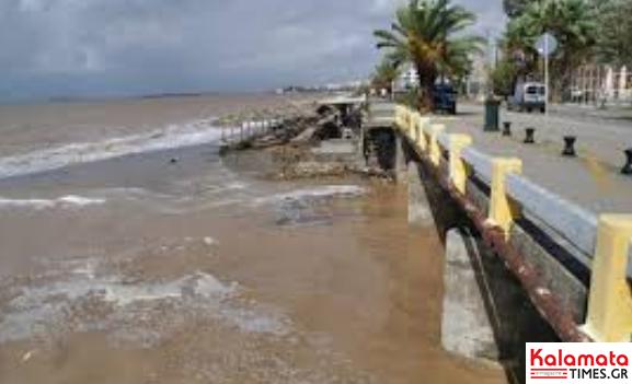 Παραμένουν σε κίνδυνο οι περιοχές του Δήμου Καλαμάτας που είχαν πληγεί στις πλημμύρες του 2016 17