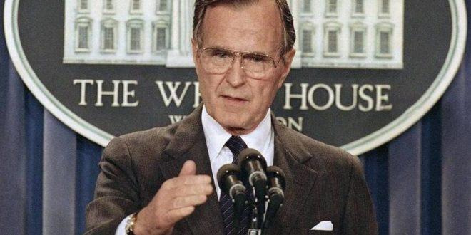 Απεβίωσε ο Τζορτζ Μπους ο πρεσβύτερος