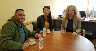 Συνάντηση με την Αντωνία Μπούζα  μέλη του Συλλόγου Κωφών και Βαρηκόων Μεσσηνίας