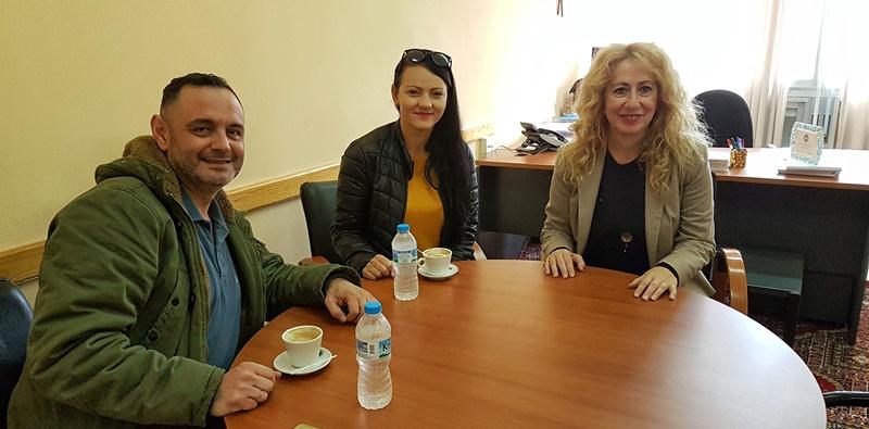 Συνάντηση με την Αντωνία Μπούζα  μέλη του Συλλόγου Κωφών και Βαρηκόων Μεσσηνίας 37