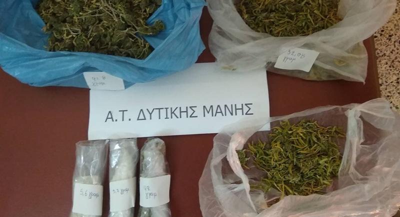 Συνελήφθη ένα άτομο για ναρκωτικά σε περιοχή της Δυτικής Μάνης 26