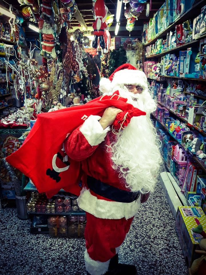 Στην Καλαμάτα τα δώρα τα φέρνει ο ίδιος ο Άγιος Βασίλης 4