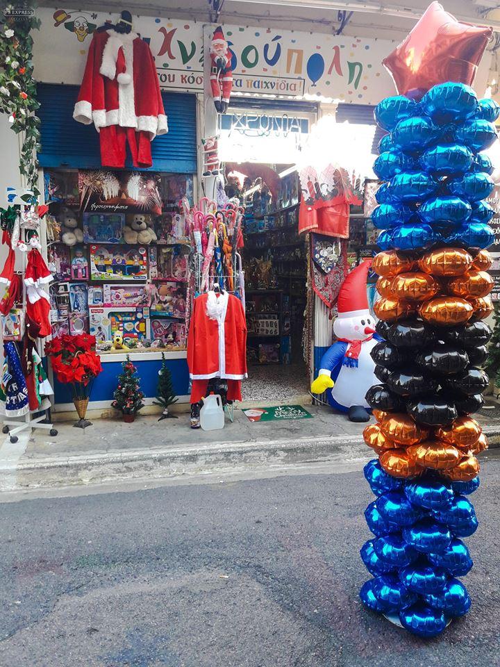 Στην Καλαμάτα τα δώρα τα φέρνει ο ίδιος ο Άγιος Βασίλης 2