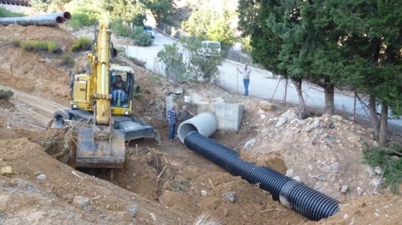 Πολύ σοβαρό έργο  ο νέος αγωγός νερού Φ800 από Πήδημα στην Καλαμάτα 19