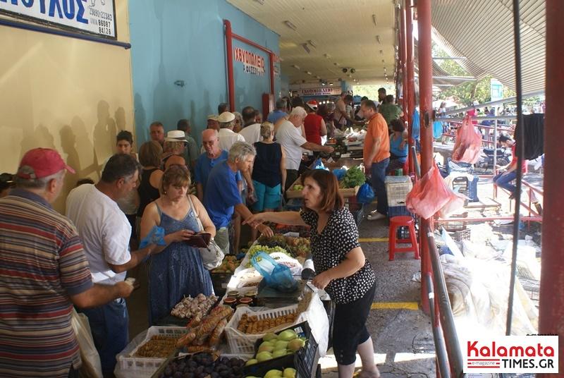 Αλλάζει η ημερομηνία διεξαγωγής της λαϊκής αγοράς Καλαμάτας