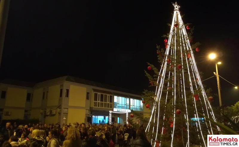 Φωταγώγηση του Χριστουγεννιάτικου δέντρου στο Βιοτεχνικό Πάρκο