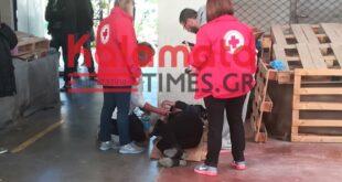 Χαμός σε διανομή τροφίμων ΤΕΒΑ στην Καλαμάτα – Ένταση και λιποθυμίες στις ουρές (photos)