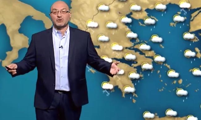 Σάκης Αρναούτογλου: Έρχονται ισχυρές βροχοπτώσεις τη νέα εβδομάδα 6