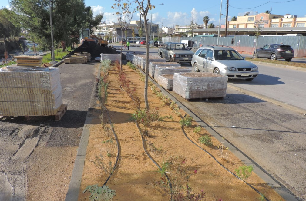 Καλαμάτα: Ολοκληρώνεται η αναβάθμιση στην Αρτέμιδος 15