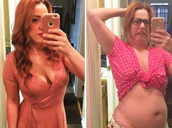 30 αστείες φωτογραφίες πριν και μετά που θα δυσκολευτείτε να πιστέψετε ότι πρόκειται για το ίδιο άτομο 61