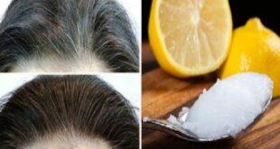 Εξαφανίστε τις Άσπρες Τρίχες και επαναφέρετε τα Μαλλιά σας στο Φυσικό τους Χρώμα, με αυτήν την Καταπληκτική Συνταγή