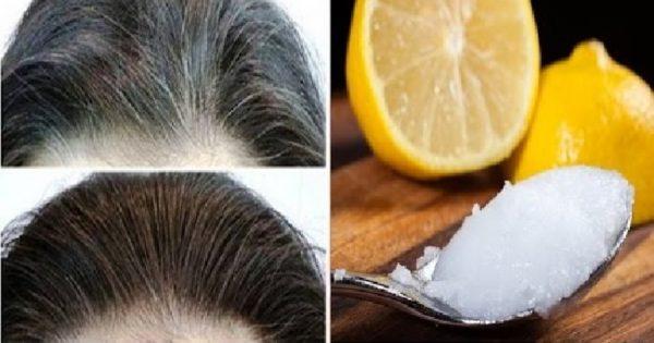 Εξαφανίστε τις Άσπρες Τρίχες και επαναφέρετε τα Μαλλιά σας στο Φυσικό τους Χρώμα, με αυτήν την Καταπληκτική Συνταγή 1