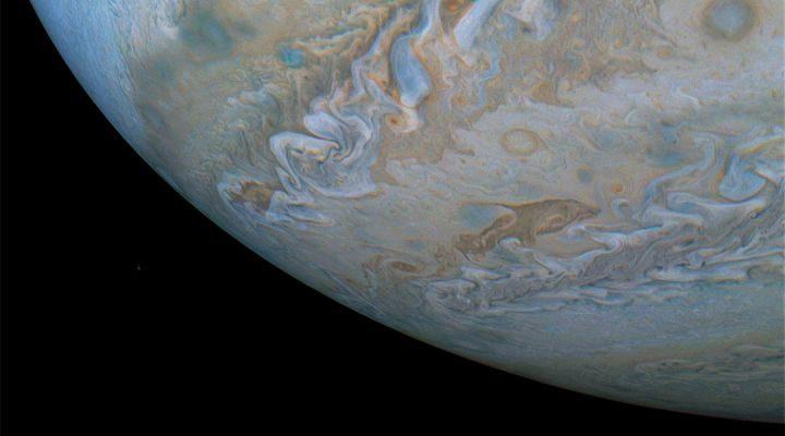 Εντυπωσιακές φωτογραφίες του πλανήτη Δία από το Juno 1