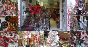 Χριστουγεννιάτικα είδη και διακοσμητικά στο κατάστημα SOTREK