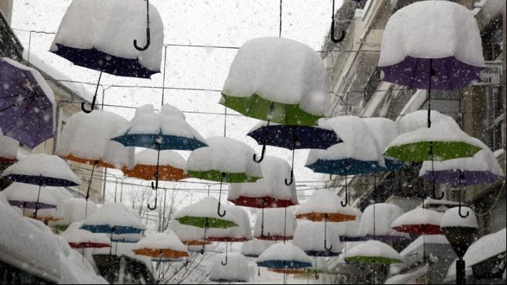 Ήρθαν τα Χριστούγεννα και μαζί τους έφεραν χιόνια και πολικές θερμοκρασίες 1