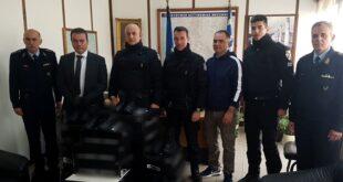 Δωρεά ειδών υπόδησης για τις ανάγκες της Ομάδας Δίκυκλης Αστυνόμευσης (ΔΙ.ΑΣ.) της Διεύθυνσης Αστυνομίας Μεσσηνίας