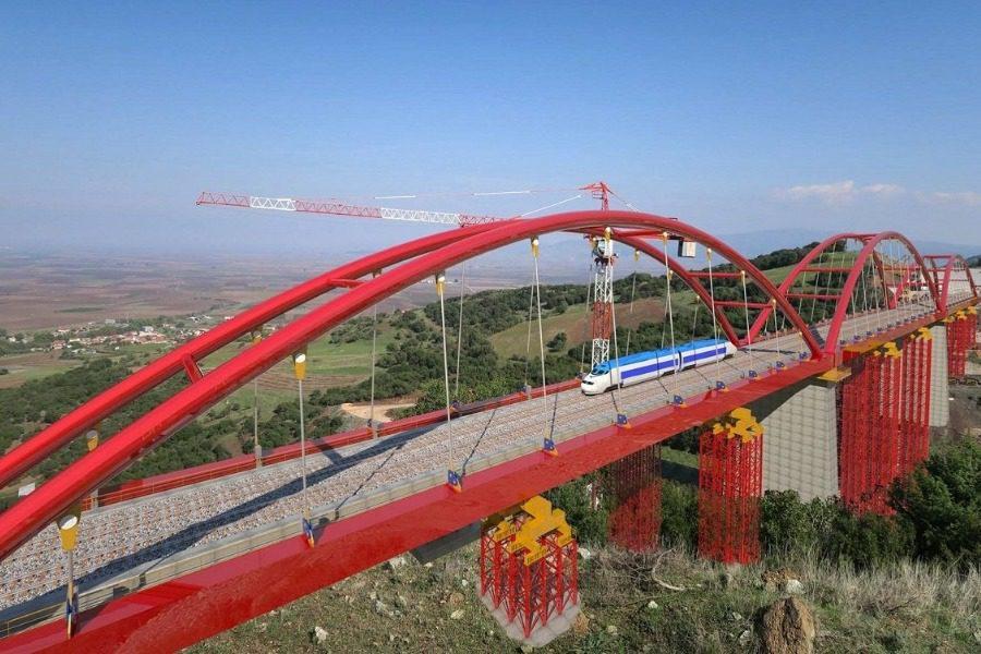 Φθιώτιδα: Οι εντυπωσιακές δοκιμές της νέας γέφυρας με υπερφορτωμένα τρένα 17