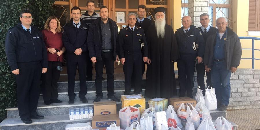 Ελληνική αστυνομία: Συγκέντρωση τροφίμων, φάρμακα, είδη ένδυσης κ.α. 26