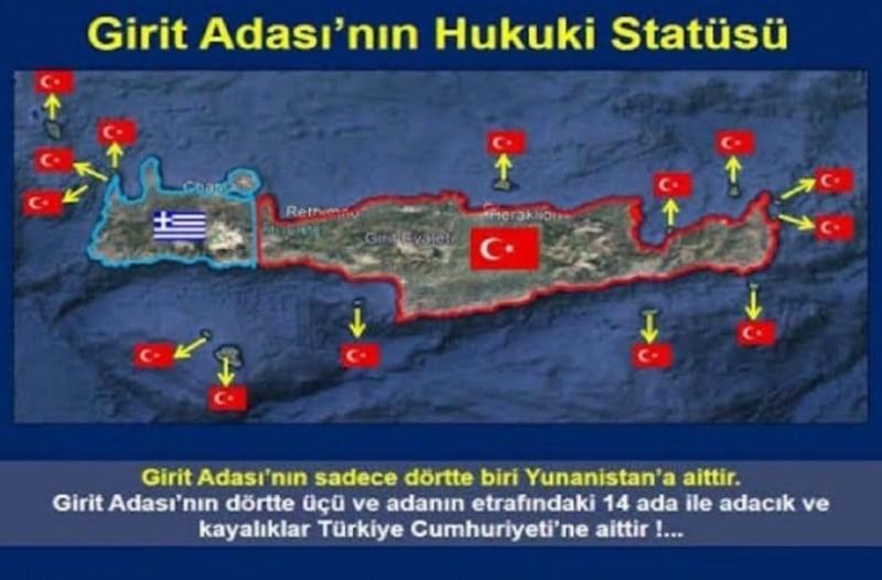 """Απίστευτη τουρκική πρόκληση: """"Η Κρήτη δεν είναι ελληνική"""" γράφουν και επικαλούνται και… συνθήκες! 16"""