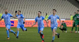 Κύπελλο: Η Λαμία απέκλεισε ξανά τον Παναθηναϊκό, 4-2 στα πέναλτι