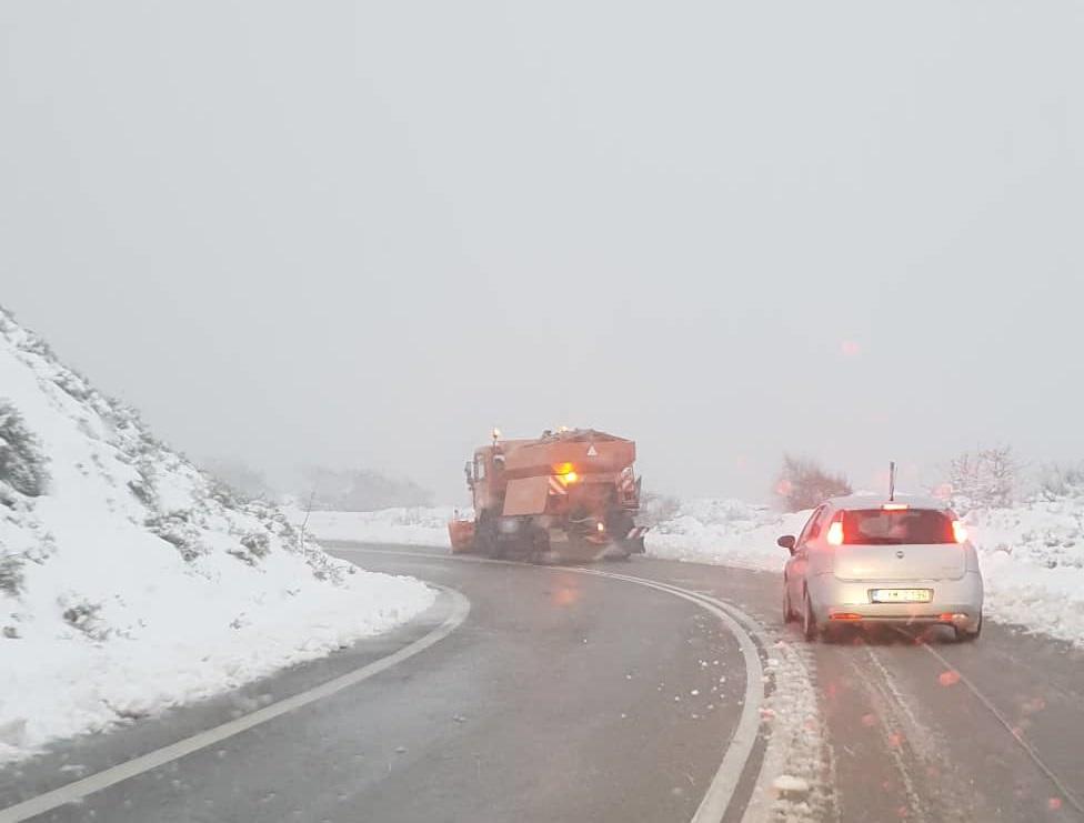 Χιόνια και στην Καλαμάτα 3