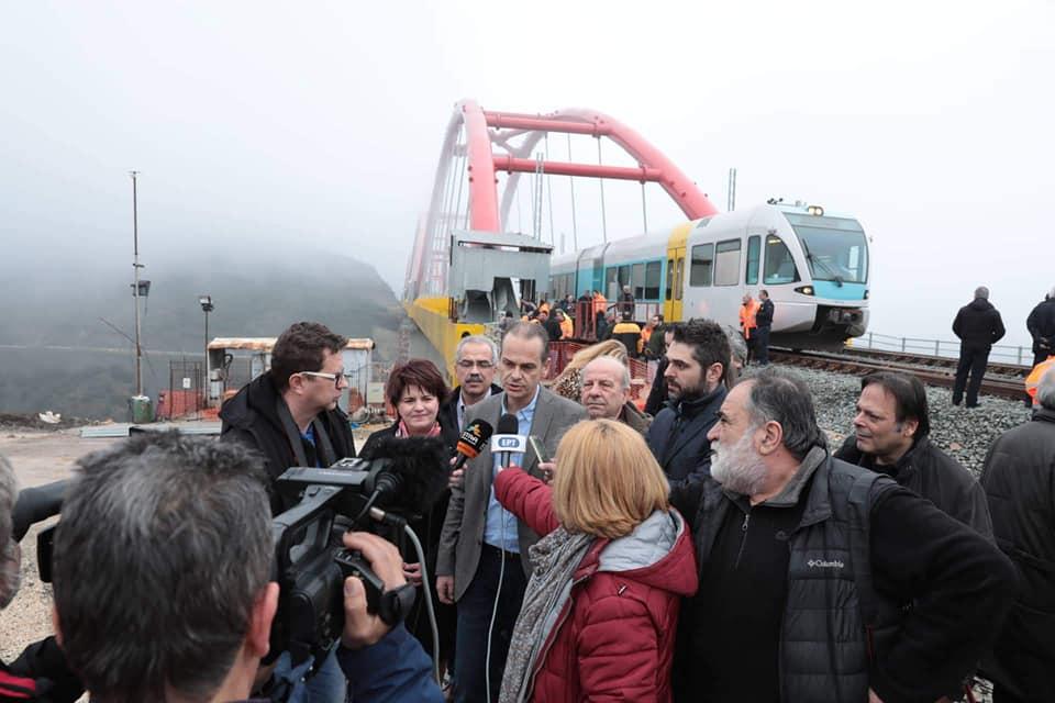 Παραδόθηκε η νέα σιδηροδρομική γραμμή Λιανοκλάδι-Δομοκός [εικόνες-video] 30