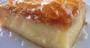 Γαλακτομπούρεκο: Το γευστικότερο γλυκό του ταψιού
