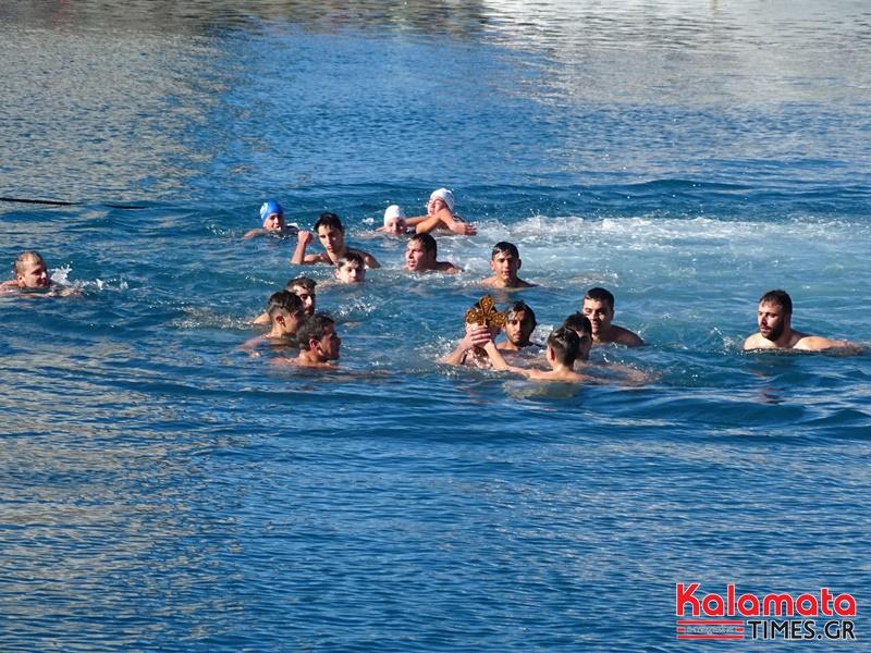 Θεοφάνεια 2019: Ο αγιασμός των υδάτων στην Καλαμάτα 2