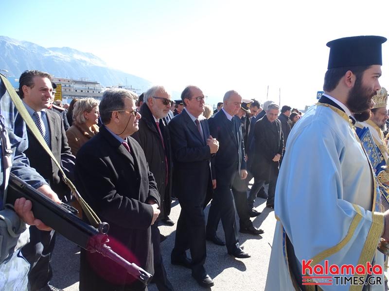 Με μεγαλοπρέπεια πραγματοποιήθηκε και φέτος ο εορτασμός των Θεοφανίων στην Καλαμάτα 15