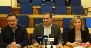 O Θανάσης Βασιλόπουλος παρουσίασε Ν. Μπασακίδη και Π. Ντίντα με τον συνδυασμό του