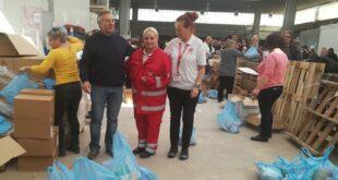 Διανομή τροφίμων ΤΕΒΑ Ιανουαρίου στην Μεσσηνία