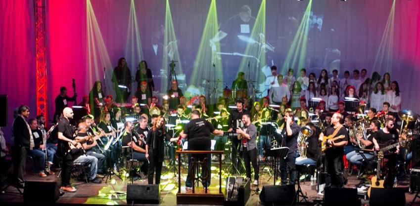 """Εξαιρετικά πετυχημένη η συναυλία της Δημοτικής Φιλαρμονικής με το """"The Wall"""" 1"""
