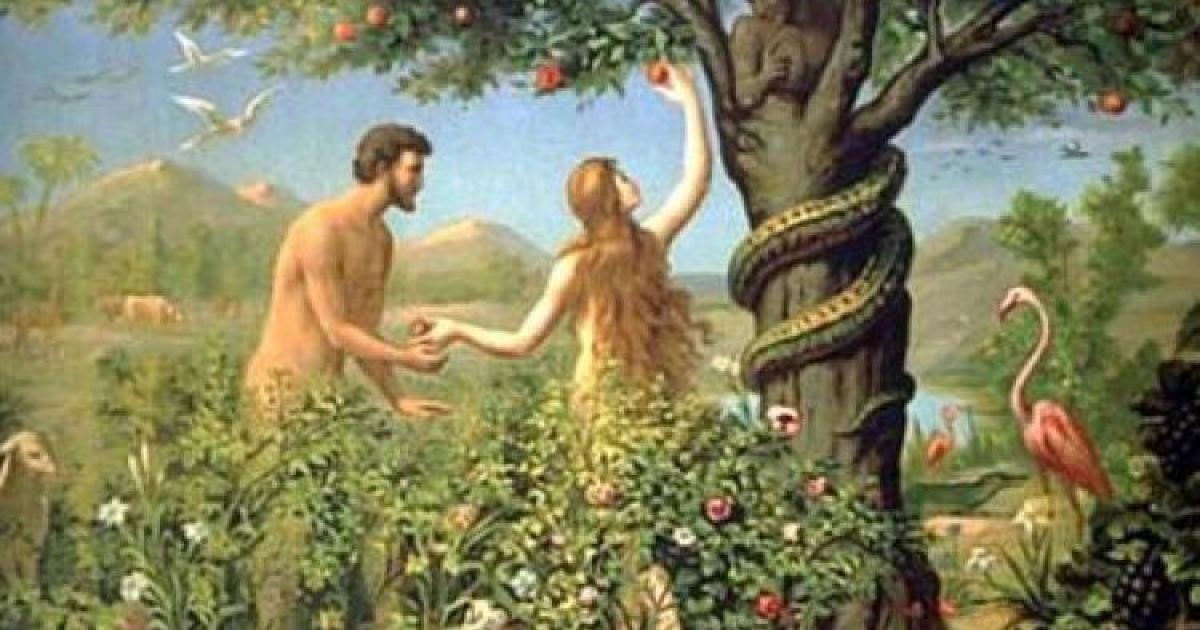 Γερμανός, Γάλλος, Άγγλος και Έλληνας σχολιάζουν έναν πίνακα του Αδάμ και της Εύας 1