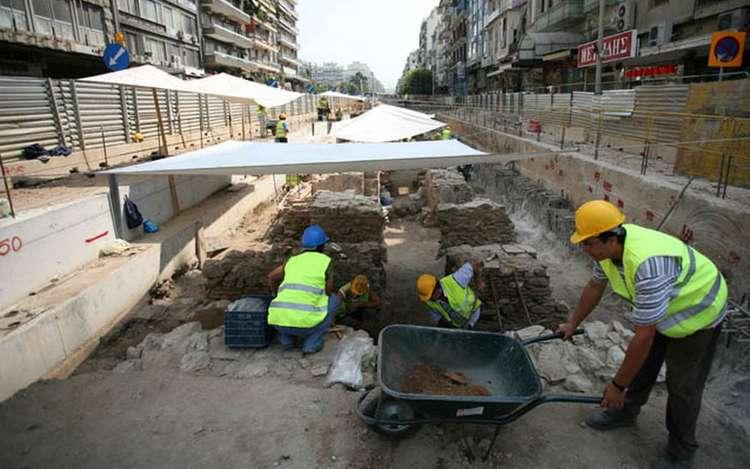Βρέθηκε αρχαίος σκελετός που εικάζεται ότι ανήκει στον πρώτο εργάτη του μετρό της Θεσσαλονίκης 3